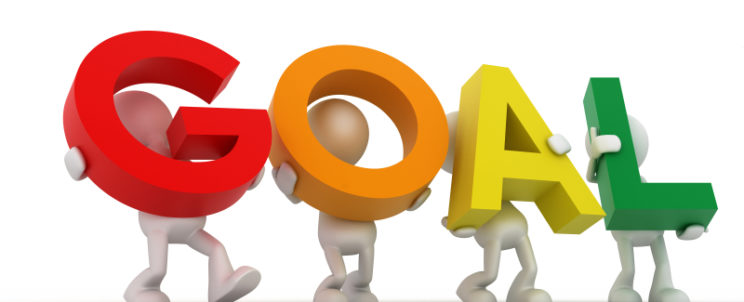 Goal clipart goal setting. Top for healthy eating