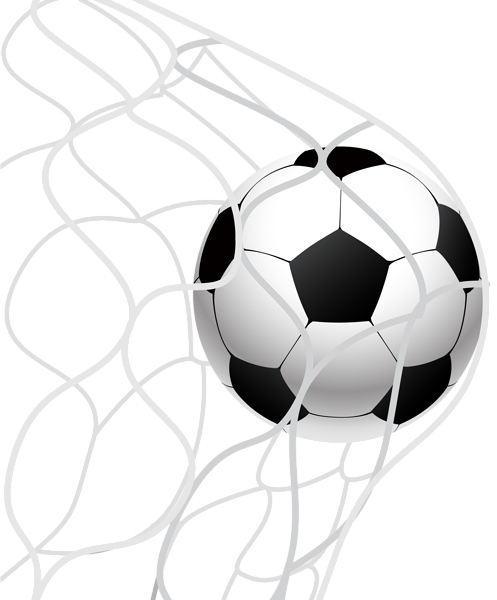 Goal clipart png. Soccer ball in a