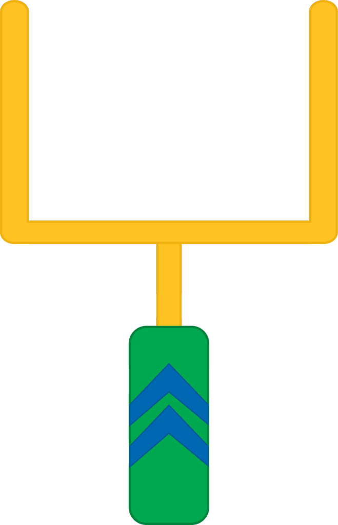 Football goal posts png. Post clipart google search