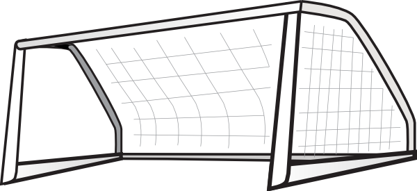 football field goal post clipart png