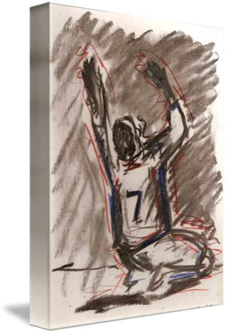 Goal drawing art. By laurel jean siler