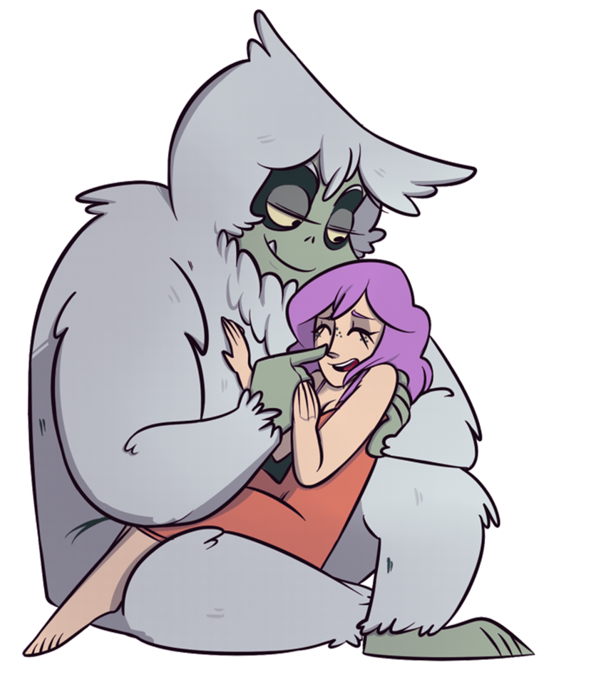Goal drawing cuddle. Duo by call me