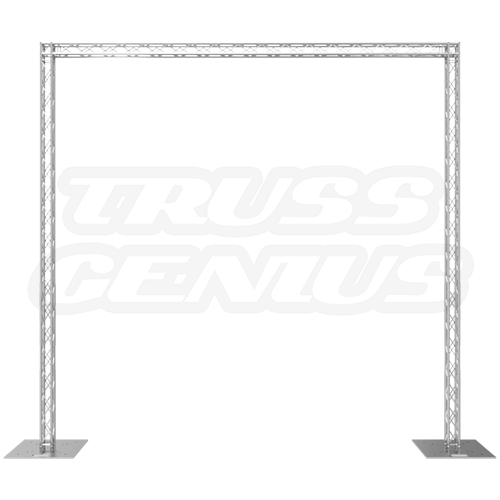 Goal post png image. X truss system