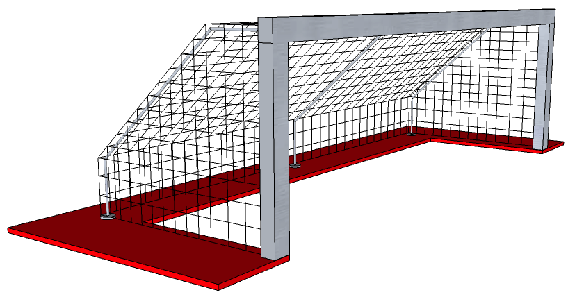 Goal post png image. How to build a