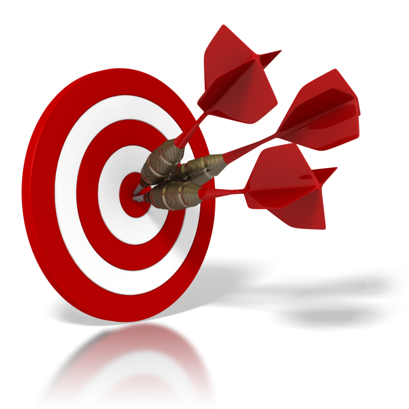 collection of goal. Dart clipart achieved target clipart black and white