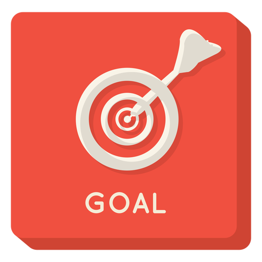 Goal transparent png. Square icon svg vector