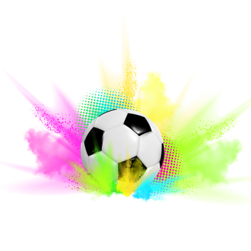 Goal vector abstract. Soccer ball png vectors