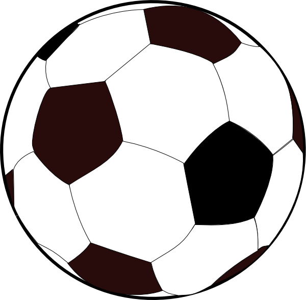Goal vector drawn soccer. Free cartoon download clip