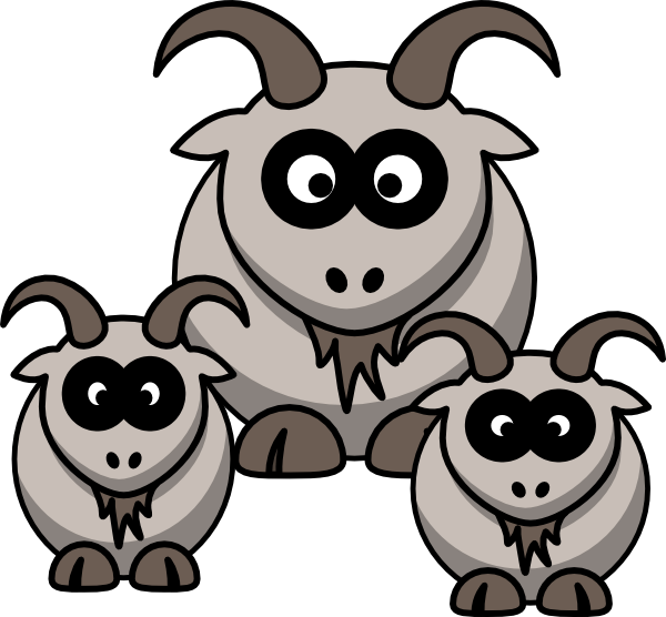 Goat clipart little. Goats matings images gallery