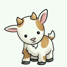 Goat clipart little. Top free printable coloring