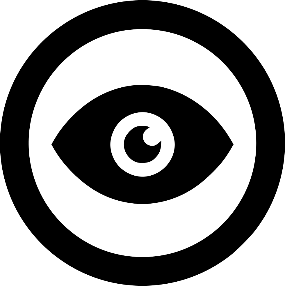Goat eye png. Circle outline svg icon