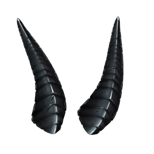 Goat horns png. Mountain by shivali lorekeeper