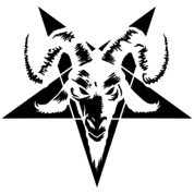 Goat pentagram png. Head with inverted pillowcase