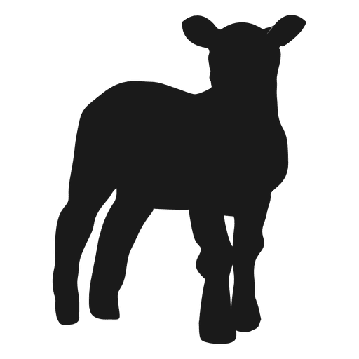 Transparent svg vector. Goat silhouette png image library