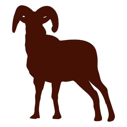 Transparent svg vector. Goat silhouette png royalty free stock