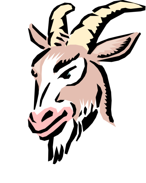 Goat vector png. Cartoon billy image illustration