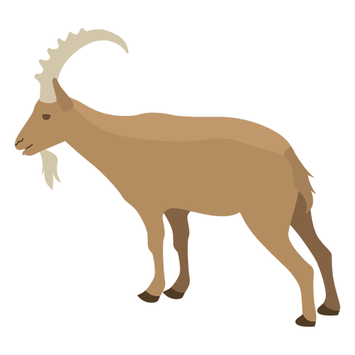 Goat vector png. Graphics to download wild