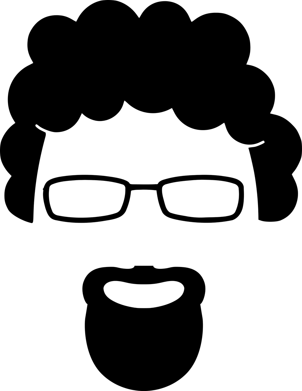 Goatee drawing full beard. Care and maintenance the