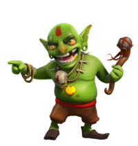 Goblin clash royale png. Single player campaign of