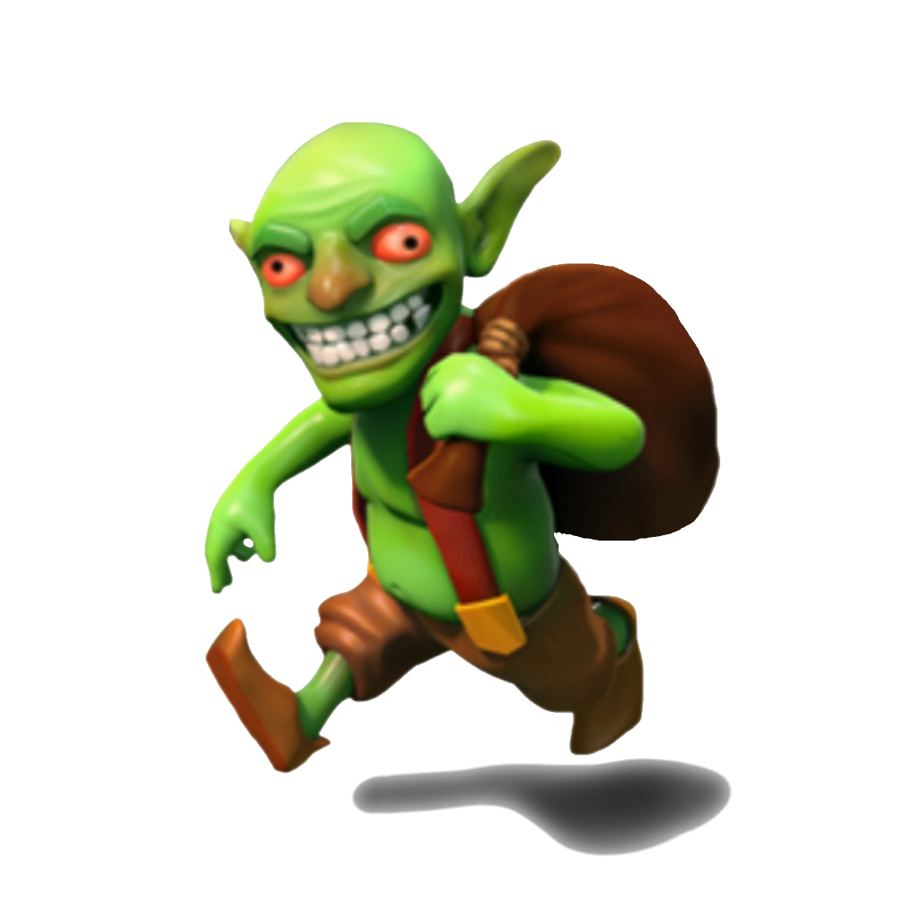 Goblin clash png. Of clans royale game
