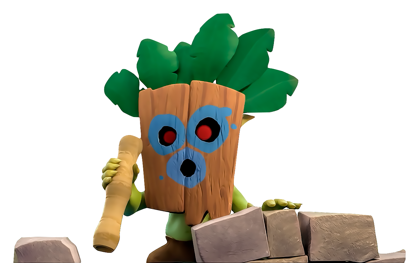 Goblin clash royale png. Image dart by flopperdesigns