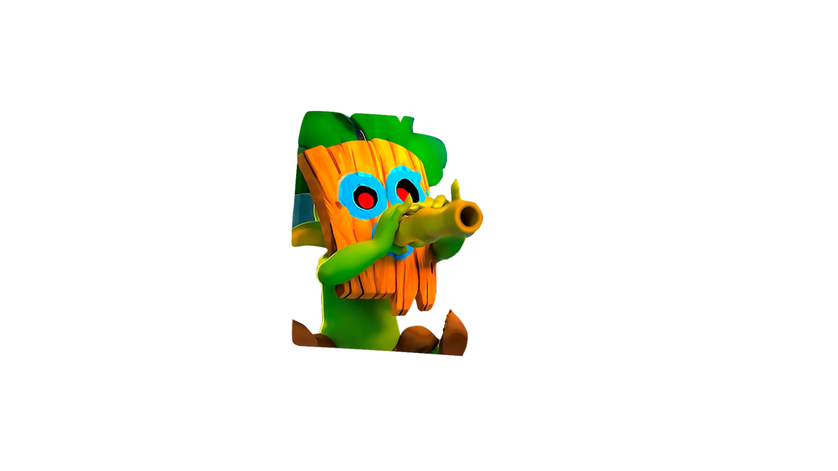 Goblin clash royale png. Dart by flopperdesigns on