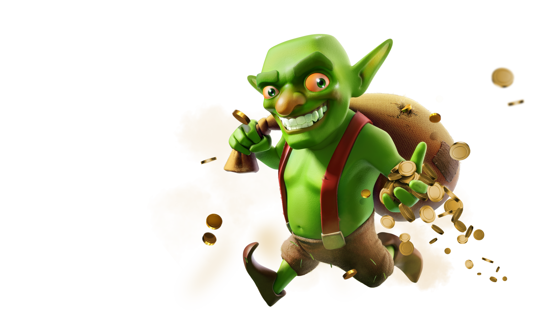 Goblin clash royale png. New characters pinterest artwork