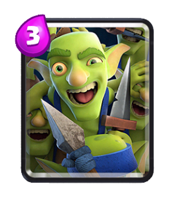 Goblin gang png. Common troops clash royale