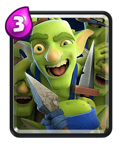 Goblin gang png. Common clash royale card