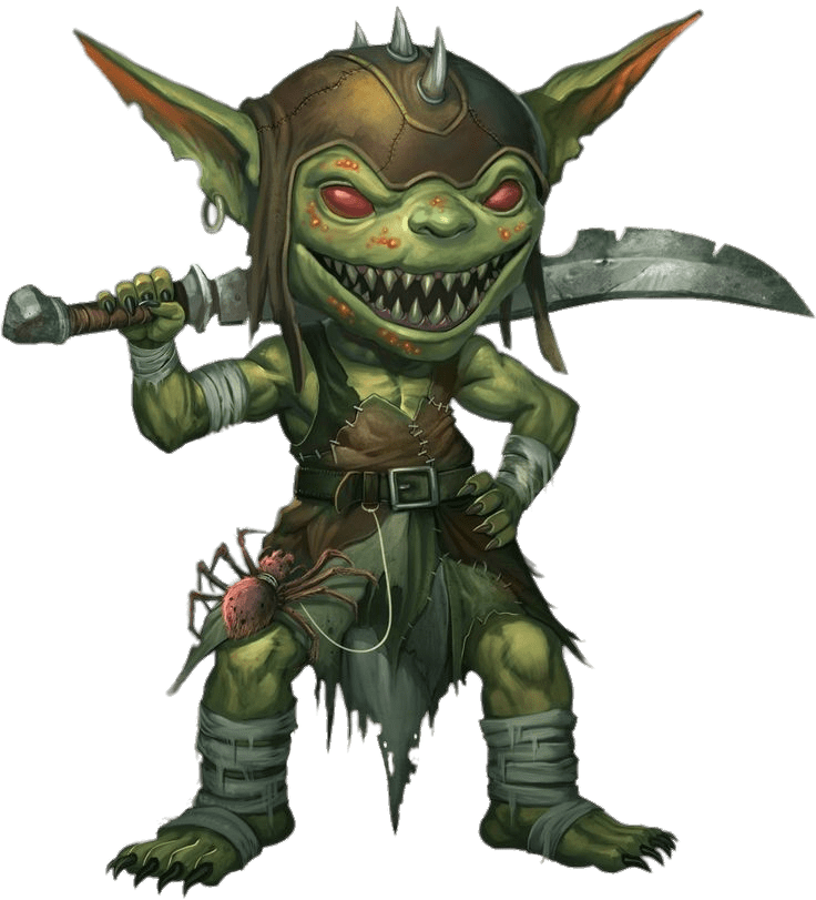 Goblin transparent. With sword png stickpng