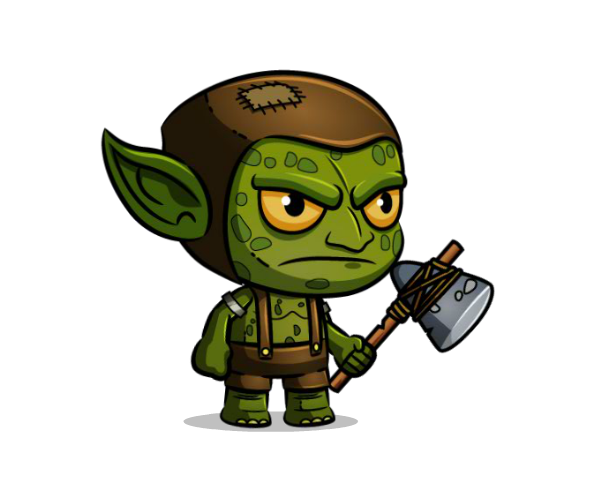 Goblin transparent. How to ignore pixels