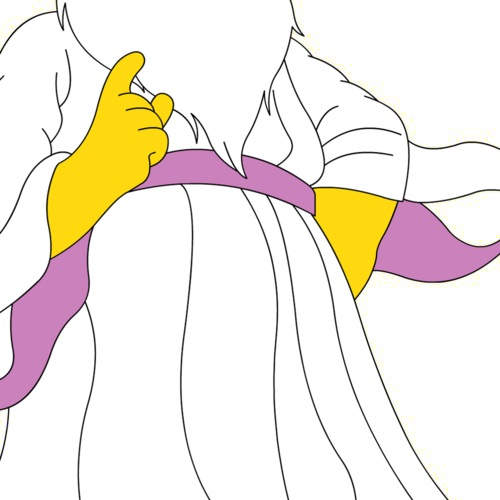 Image png simpsons wiki. Transparent god cartoon jpg black and white download