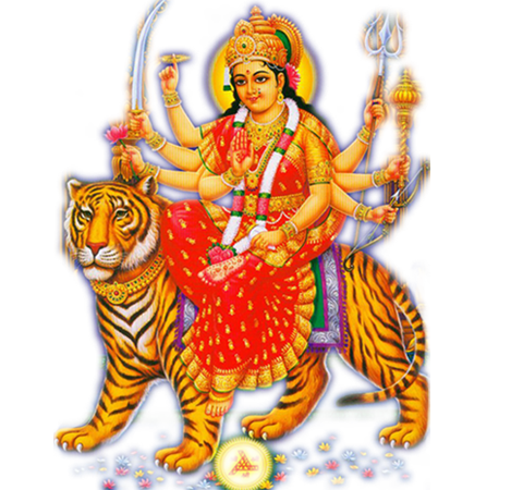 Durga drawing durgaji. Goddess maa png transparent