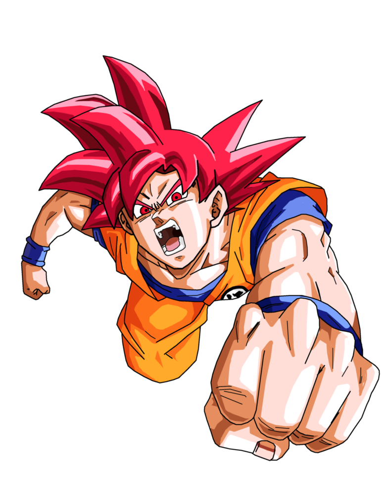 God goku png. Super saiyan by brusselthesaiyan