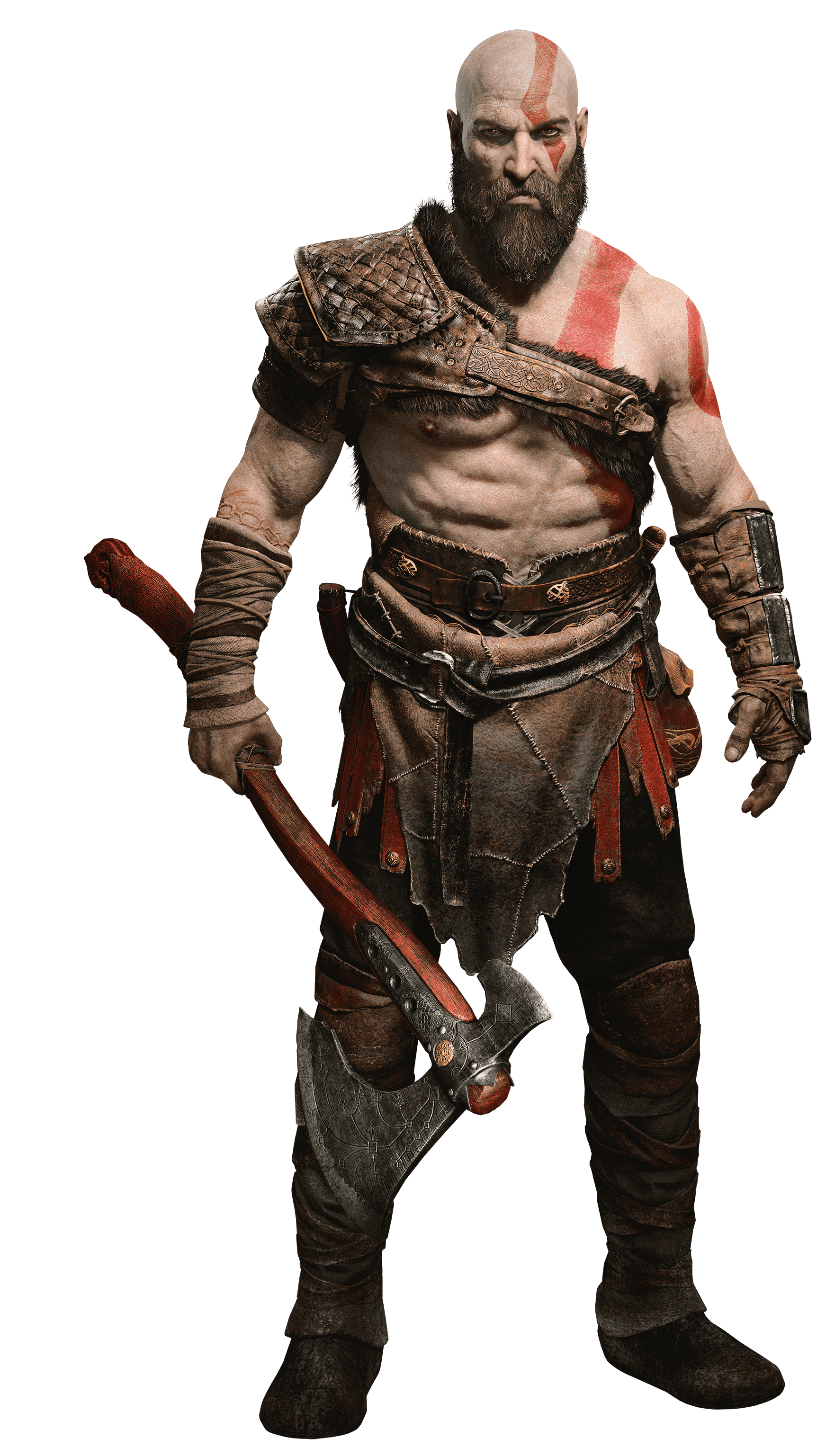 God of war 2017 png. Kratospng