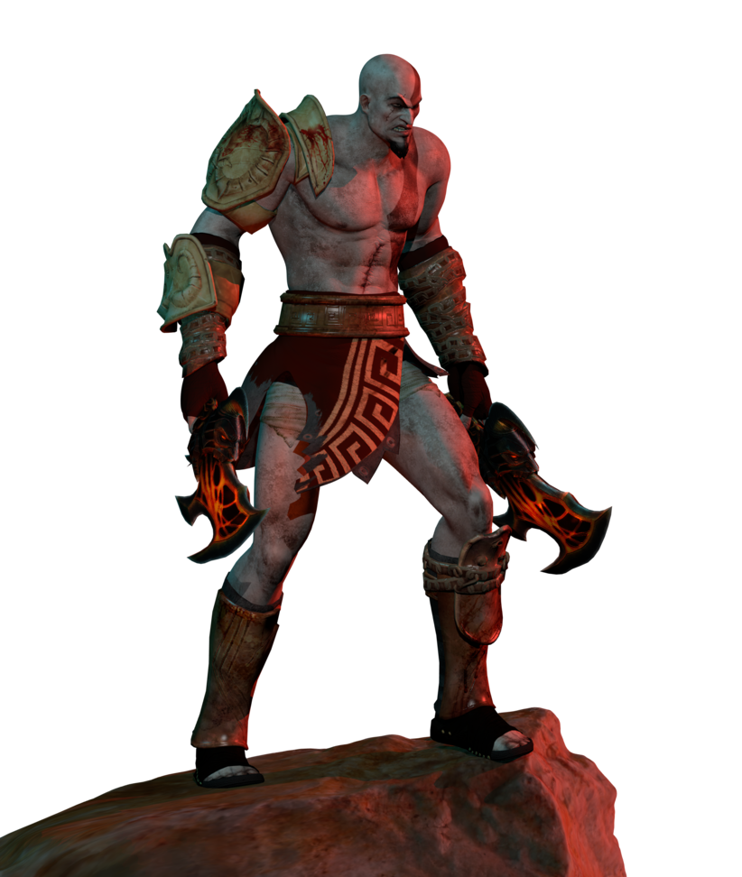 God of war 3 nemean cestus png. Blender download kratos by