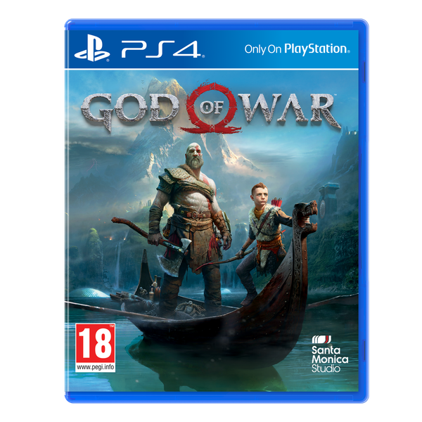 God of war 4 box art png. Ps game games co