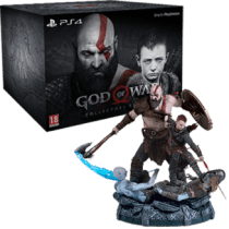 God of war 4 box art png. Buy collector s edition