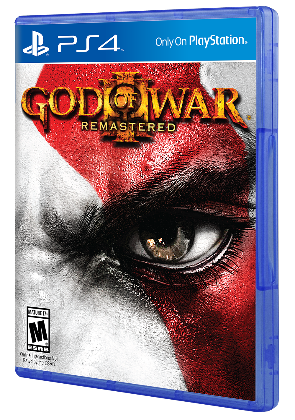 God of war 4 box art png. Iii remastered for ps