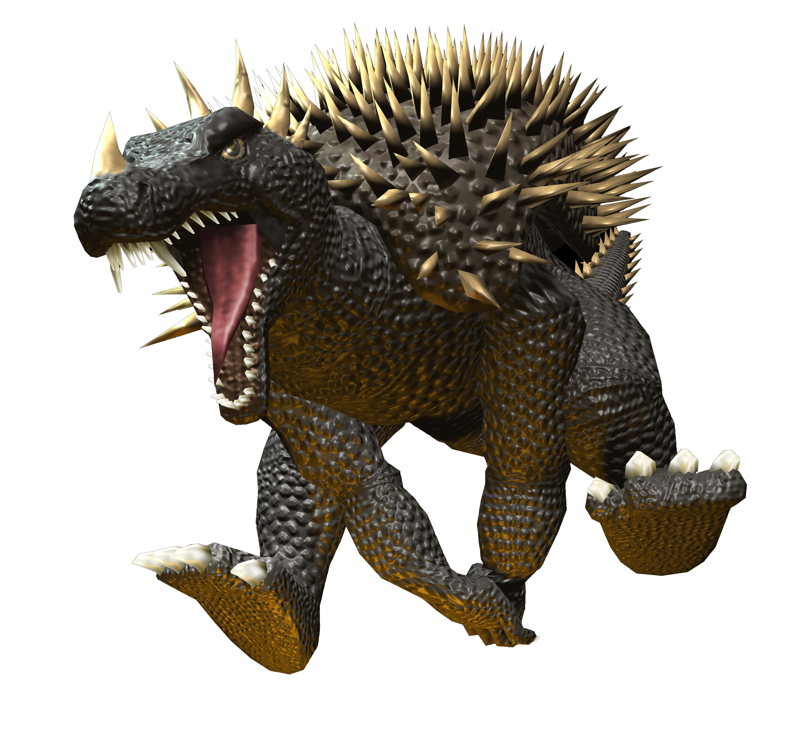 Godzilla destroy all monsters melee png. Image gdamm anguirus gojipedia