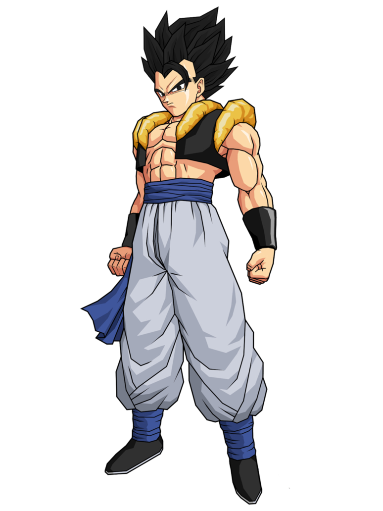 Gogeta transparent base form. By spinoinwonderland on deviantart