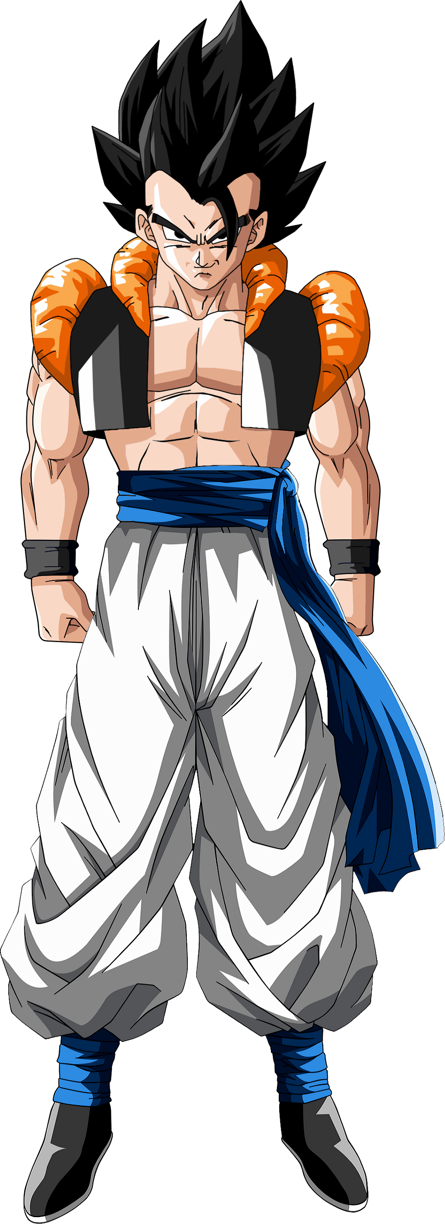 Gogeta transparent base form. Thise game should make