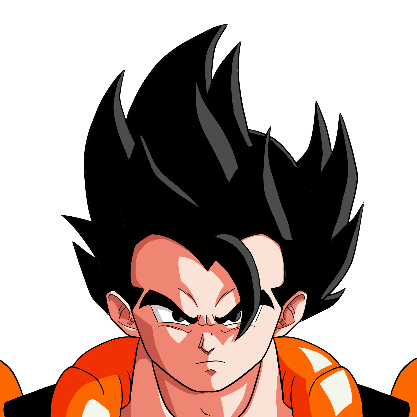 Gogeta transparent base form. My take on oc