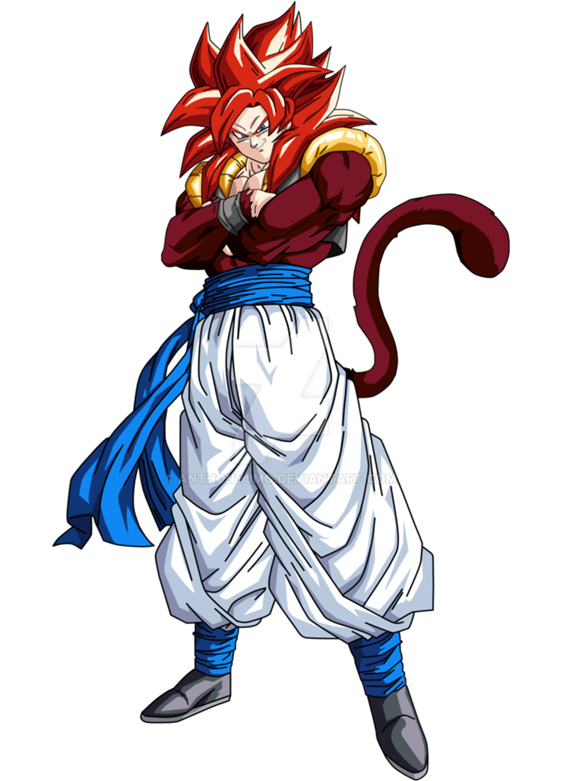 Gogeta transparent base form. Ssj dragon ball super