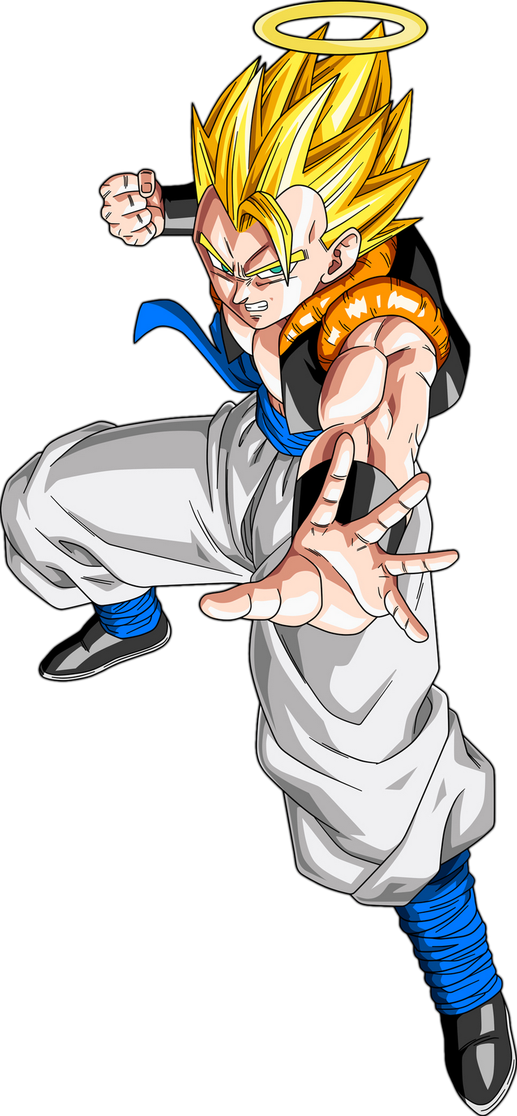 Gogeta transparent ssj. Vs battles wiki fandom