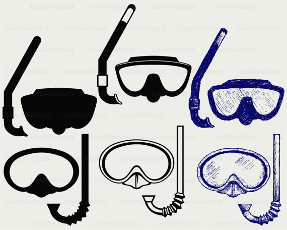 goggles clipart diving goggles