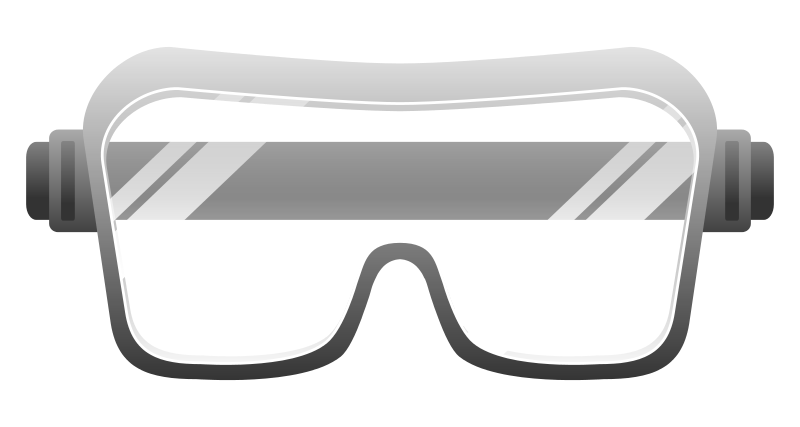 Goggles vector star glass