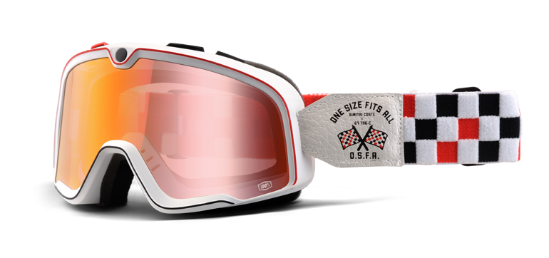 Goggles transparent 100%. Barstow o s f