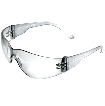 Goggles transparent. Male safety rs piece