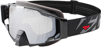 Fxr goggle . Goggles transparent pilot royalty free